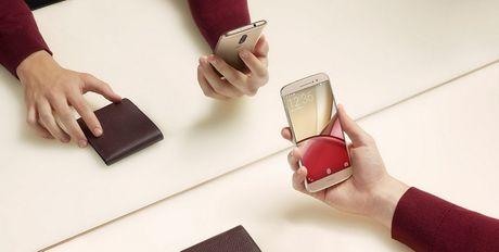 Motorola trinh lang smartphone tam trung Moto M - Anh 3
