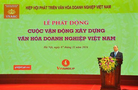 "Le phat dong Cuoc van dong ""Xay dung Van hoa doanh nghiep Viet Nam"" - Anh 1"