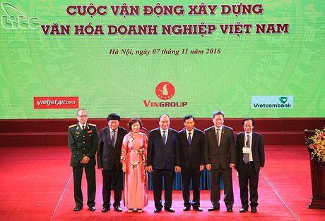 "Le phat dong Cuoc van dong ""Xay dung Van hoa doanh nghiep Viet Nam"" - Anh 3"