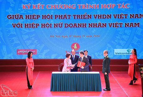 "Le phat dong Cuoc van dong ""Xay dung Van hoa doanh nghiep Viet Nam"" - Anh 5"