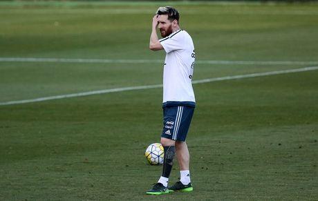 An tuong voi hinh xam moi cua Messi truoc tran gap Brazil - Anh 2