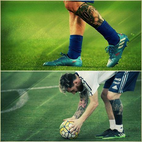An tuong voi hinh xam moi cua Messi truoc tran gap Brazil - Anh 7