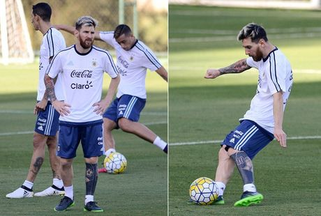 An tuong voi hinh xam moi cua Messi truoc tran gap Brazil - Anh 8
