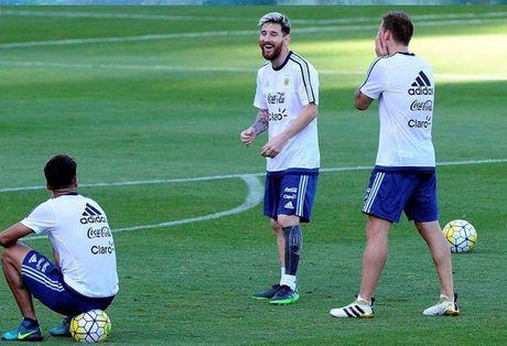 An tuong voi hinh xam moi cua Messi truoc tran gap Brazil - Anh 9