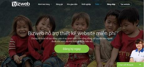 Thiet ke website mien phi cho cac to chuc thien nguyen - Anh 1