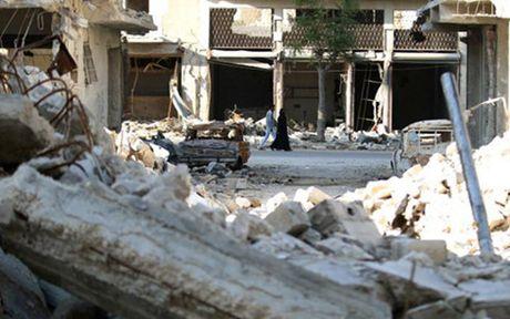 Nga co the tiep tuc khong kich vao Aleppo, Syria - Anh 1