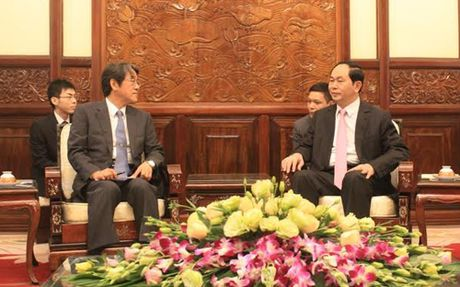 Chu tich nuoc Tran Dai Quang tiep Dai su cac nuoc trinh Quoc thu - Anh 2