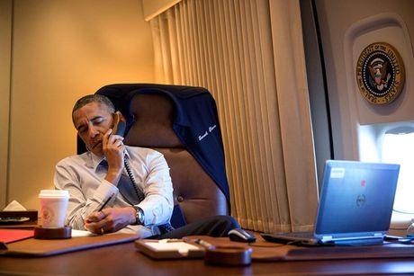 Diem danh nhung thiet bi cong nghe phuc vu Tong thong Obama - Anh 3