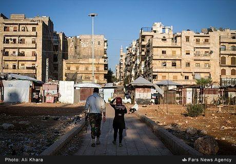 Canh binh yen hiem hoi o Aleppo trong chien tranh - Anh 6