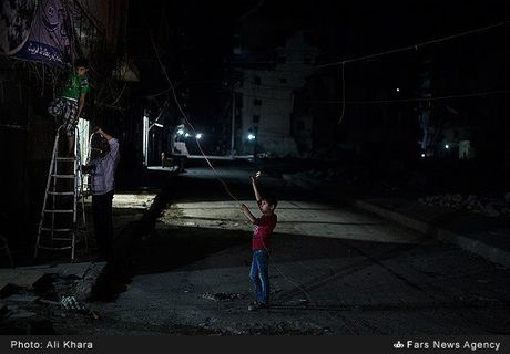 Cuoc song o khu dan cu rinh rap hiem nguy tai Aleppo - Anh 12