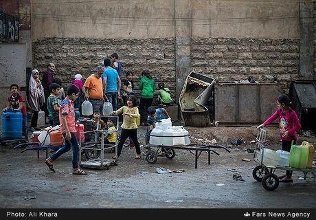 Cuoc song o khu dan cu rinh rap hiem nguy tai Aleppo - Anh 3