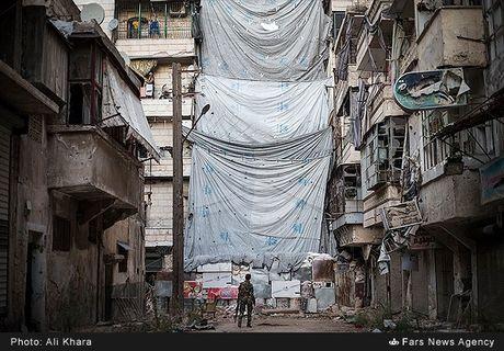 Cuoc song o khu dan cu rinh rap hiem nguy tai Aleppo - Anh 5