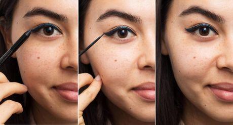 10 meo giup cac nang ke eyeliner de 'nhu an keo' - Anh 1