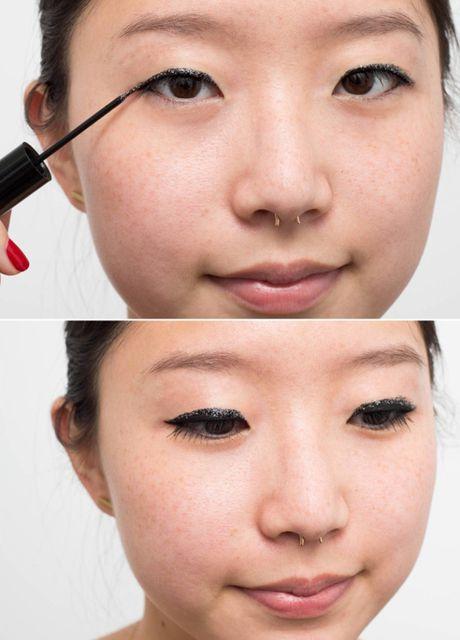 10 meo giup cac nang ke eyeliner de 'nhu an keo' - Anh 9