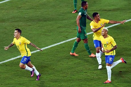 Brazil - Argentina: Dau chi co Messi va Neymar - Anh 1