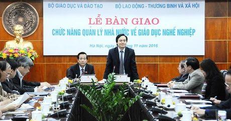 Chinh thuc chuyen hon 500 truong CD, TCCN ve Bo LD-TB&XH - Anh 2