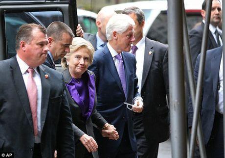 """Ba Clinton: """"Donald Trump se la tong thong cua chung ta"""" - Anh 4"""
