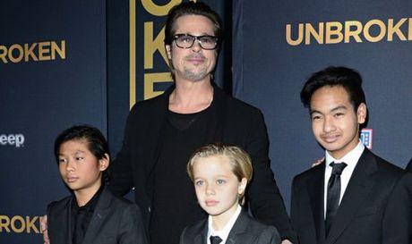 Ket luan cua canh sat ve vu Brad Pitt bao hanh con - Anh 1