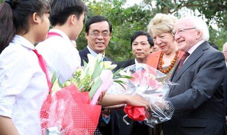 Tong thong Ireland bay to su nguong mo nguoi dan Viet Nam - Anh 1