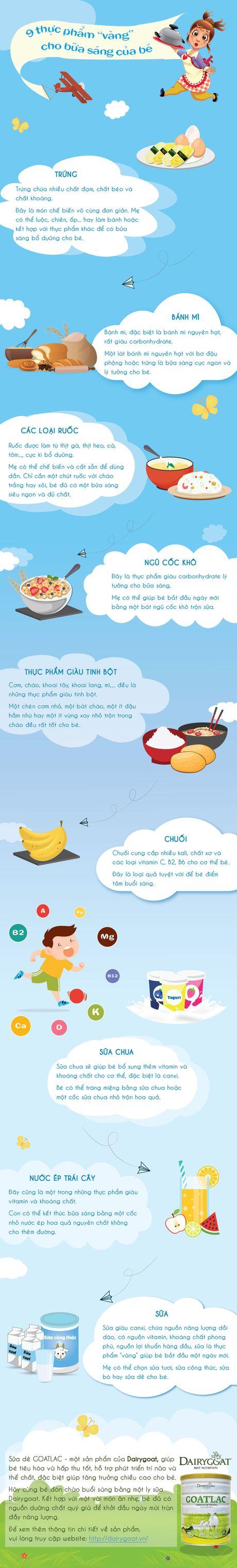 9 thuc pham 'vang' cho bua sang cua be - Anh 1