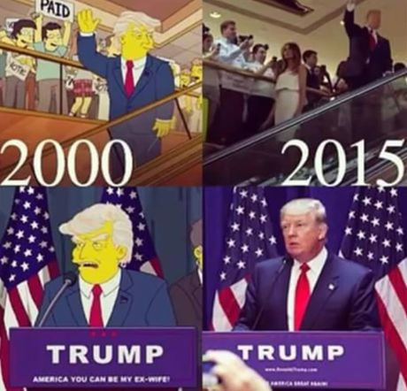 3 dieu chung to 'The Simpsons' som biet Trump la tong thong - Anh 1