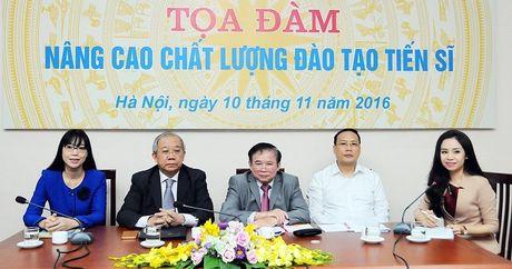 'Dao tao tien si dang chay theo so luong, buong long chat luong' - Anh 1