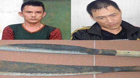 Hai doi tuong mang dao ra tinh lo cuop tai san - Anh 1