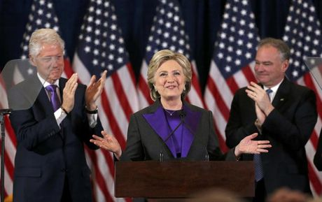 Hillary Clinton: 'Noi dau nay se con keo dai' - Anh 2
