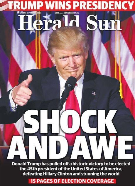 Bao chi Uc 'soc' truoc chien thang cua Donald Trump - Anh 4