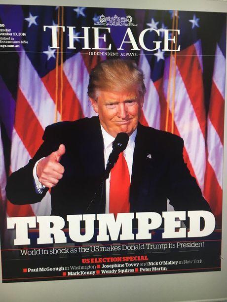 Bao chi Uc 'soc' truoc chien thang cua Donald Trump - Anh 5
