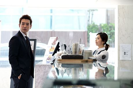 """Nang Kim Sam Soon phai long chang trai deo """"Mat na cong to vien"""" - Anh 3"""