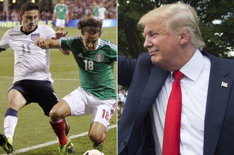 """Trump lam Tong thong, tran My - Mexico bong hoa """"dai chien - Anh 3"""