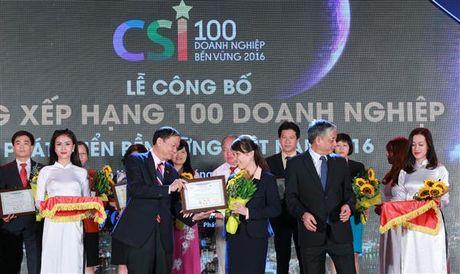 SHB lot top 100 doanh nghiep ben vung nam 2016 - Anh 1
