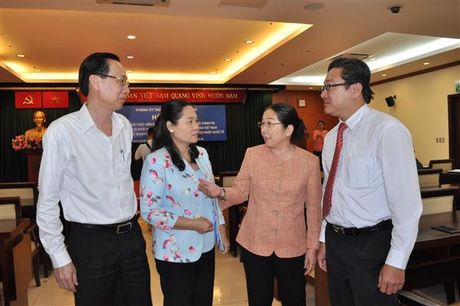 TP.HCM: Tao moi dieu kien thuan loi de doanh nghiep phat trien - Anh 1
