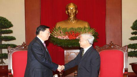Tang cuong tin cay chinh tri, huu nghi Viet-Trung - Anh 1