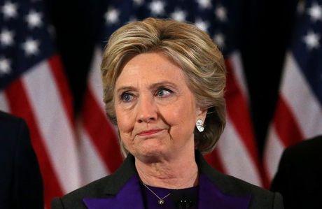 Ba Clinton phat bieu sau khi thua Trump: 'Dieu nay that dau don' - Anh 1
