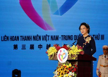 Thanh nien vun boi tinh huu nghi Viet – Trung - Anh 1
