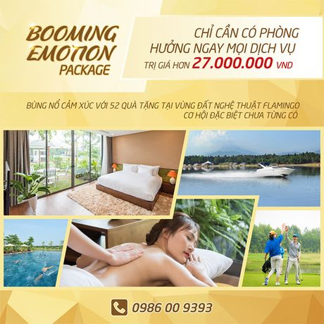 Booming Emotion Package - Bung no cam xuc - Anh 1