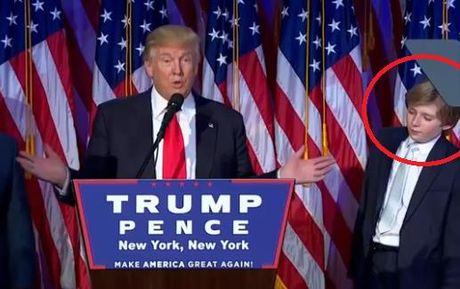 Cau ut banh trai cua Donald Trump khien dan mang phat sot - Anh 1