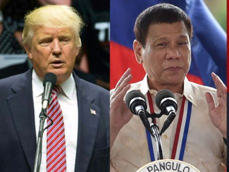 Donanld Trump dac cu, Tong thong Philippines quay lai 'lam hoa' voi My - Anh 1