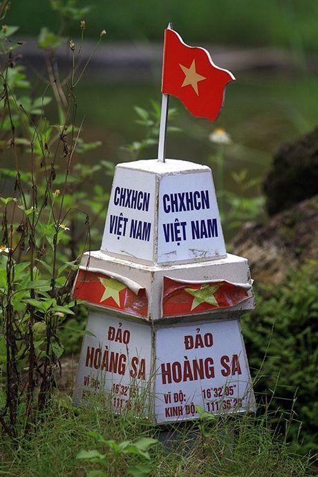 Mo hinh Hoang Sa, Truong Sa trong truong tieu hoc - Anh 6