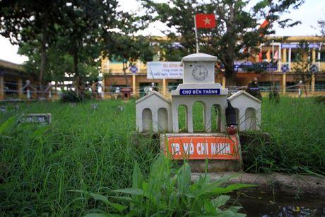 Mo hinh Hoang Sa, Truong Sa trong truong tieu hoc - Anh 9