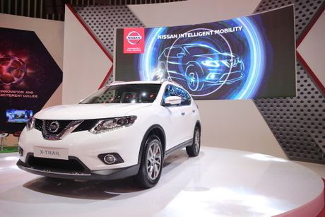 Moi ra mat, Nissan X-Trail ban vuot mu-X va Oulander - Anh 1