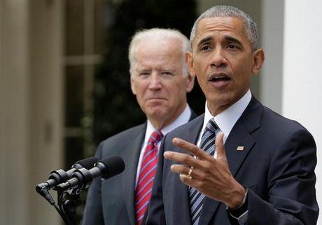 Ong Obama, ba Clinton cam ket ung ho Tong thong thu 45 nuoc My - Anh 1
