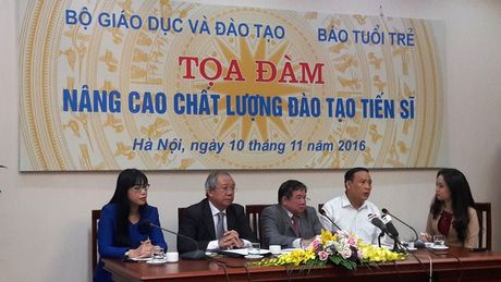 Chat luong dao tao tien si Viet Nam thap: Nguyen nhan do dau? - Anh 1