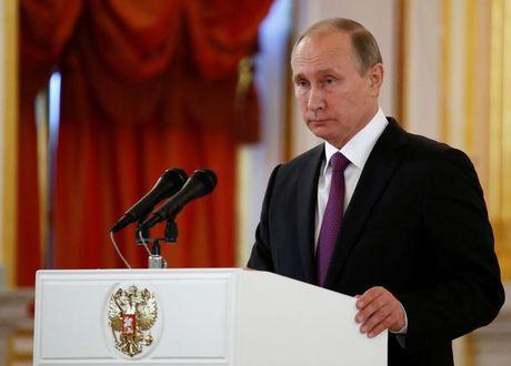 Donald Trump thang cu, Putin trai long ve quan he Nga - My - Anh 1