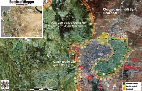 Quan doi Syria tiep tuc tan cong ac liet doc theo hanh lang phia Tay Aleppo - VIDEO - Anh 1