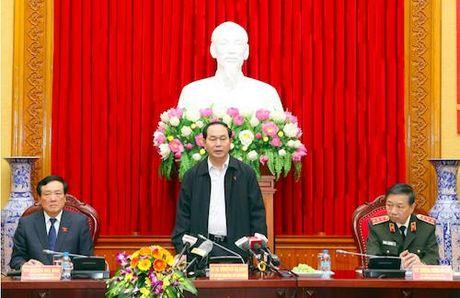 Chu tich nuoc: Khong de ke pham toi ao tuong nuoc ngoai la noi an nau - Anh 1