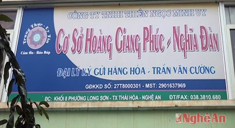 Nhan dien ban hang da cap bat chinh tai Nghia Dan - Anh 2