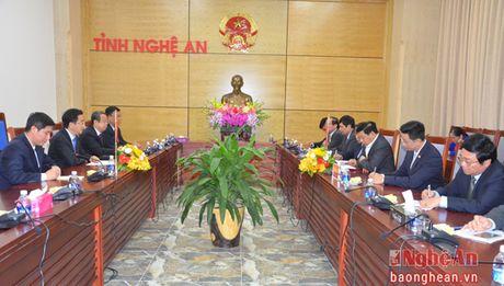 Tang cuong hop tac huu nghi Nghe An - Quang Tay (Trung Quoc) - Anh 1